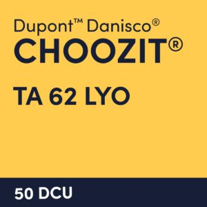 cultures choozit TA 62 LYO 50 DCU
