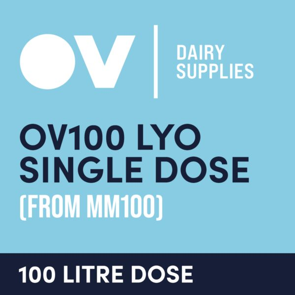 cultures single dose OV100 LYO single dose (from MM100) 100 Litre