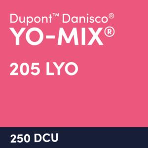 cultures yomix 205 LYO 250 DCU