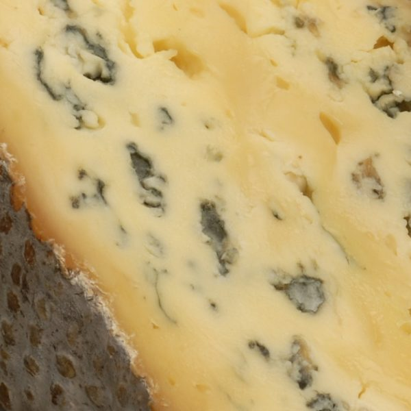 Blue cheese incorporates coagulant in its production process