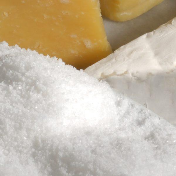 Cheese makers sea salt in 25 kg sacks