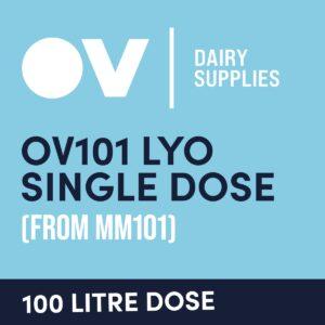 Cheese culture OV101 LYO single dose (from MM101) 100 Litre