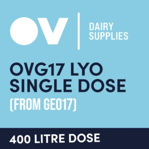 Cheese culture OVG17 LYO single dose (from GEO17) 400 Litre