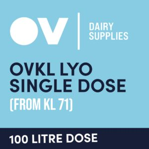 Cheese culture OVKL LYO single dose (from KL71) 100 Litre