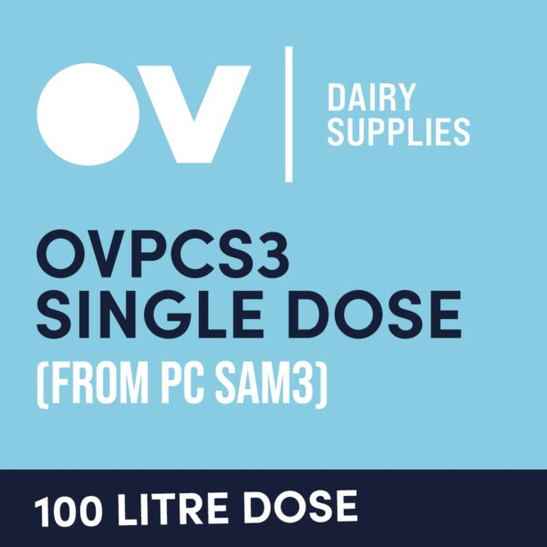 Cheese culture OVPCS3 single dose (from PC SAM3) 100 Litre