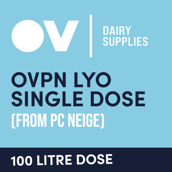 Cheese culture OVPN LYO single dose (from PC Neige) 100 Litre