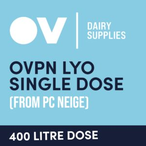 Cheese culture OVPN LYO single dose (from PC Neige) 400 Litre
