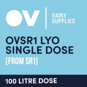 Cheese culture OVSR1 LYO single dose (from SR1) 100 Litre