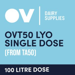 Cheese culture OVT50 LYO single dose (from TA50) 100 Litre