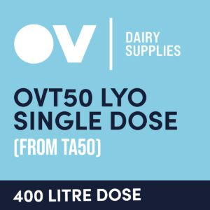 Cheese culture OVT50 LYO single dose (from TA50) 400 Litre