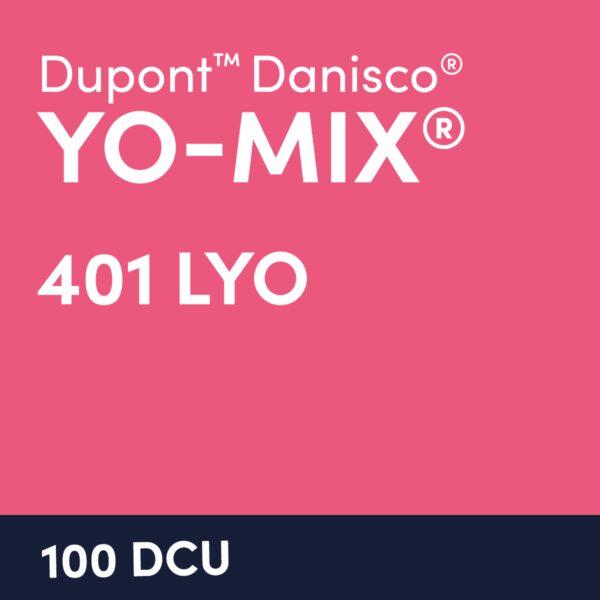 YO Mix 401 LYO 100 DCU