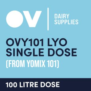 Yoghurt culture OVY101 LYO single dose (from YO MIX 101) 100 Litre