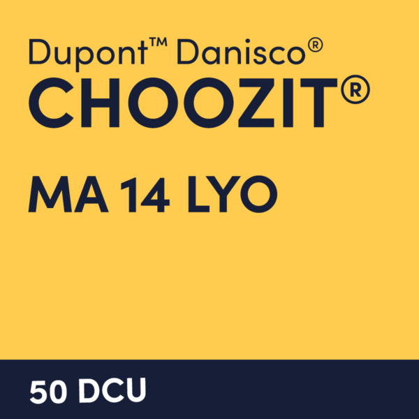 cultures choozit MA 14 LYO 50 DCU