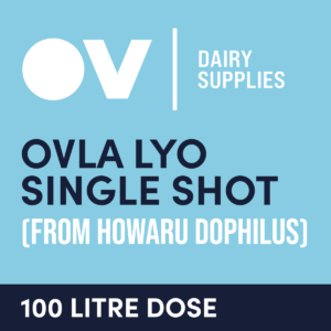 cultures single dose OVLA LYO (from HOWARU Dophilus) 100 Litre