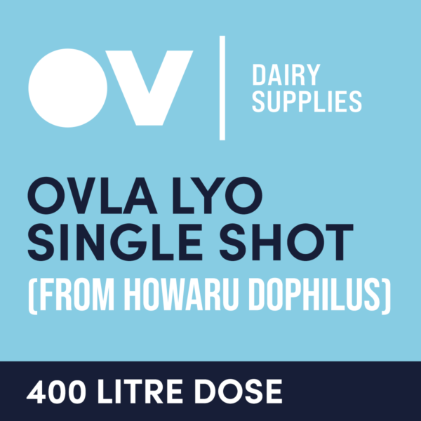 cultures single dose OVLA LYO (from HOWARU Dophilus) 400 Litre