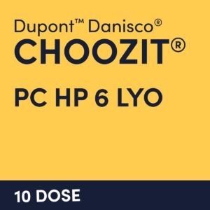 cultures choozit PC HP 6 LYO 10 DOSE