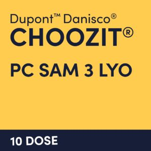 cultures choozit PC SAM 3 LYO 10 DOSE