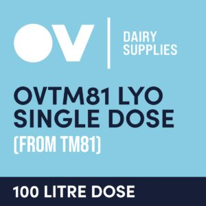 cultures single dose OVTM81 LYO single dose (from TM81) 100 Litre