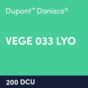 cultures VEGE 033 LYO 200 DCU