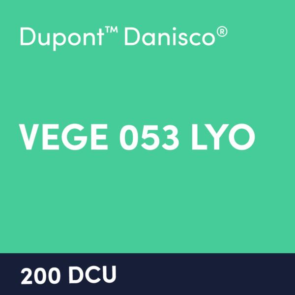 cultures VEGE 053 LYO 200 DCU